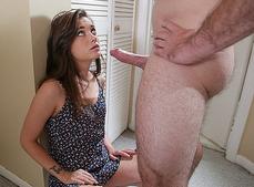 Imagem Sanba porno Novinha sentou na rola e depois chupou