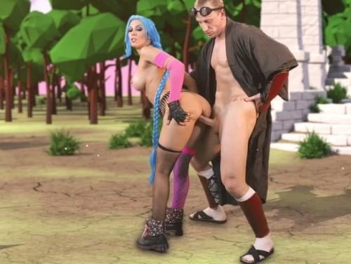 Imagem Sexo com mulheres Fodendo com uma novinha de cabelos azul